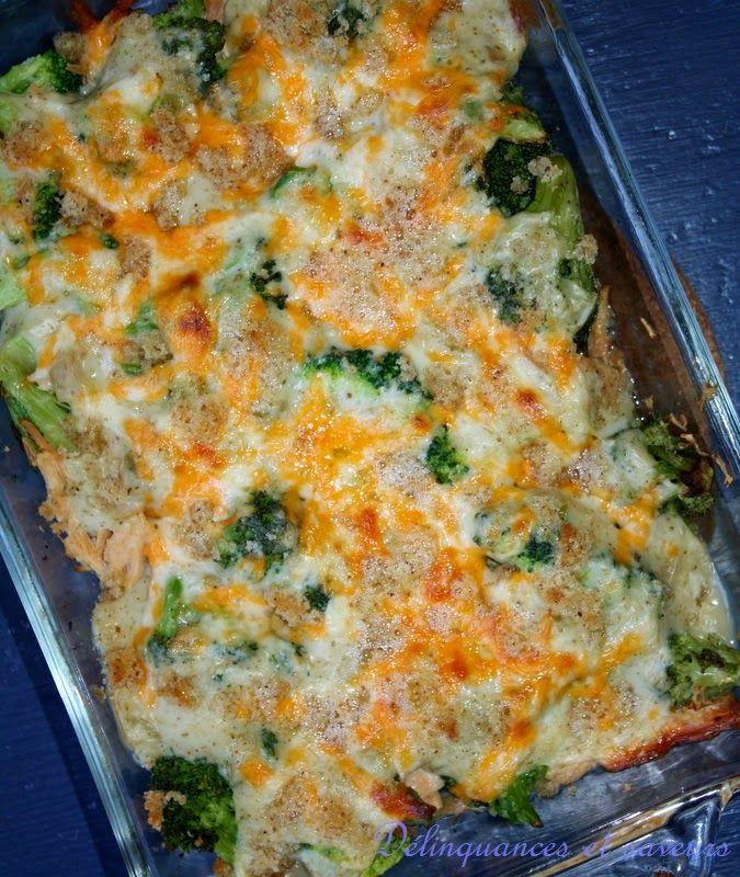 Délinquances et saveurs: Divan de poulet et brocoli facile à faire #CuisinezAvecCampbells