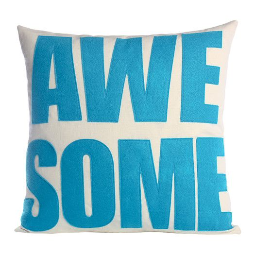 Alexandra Ferguson Awesome Polyester Throw Pillow | AllModern
