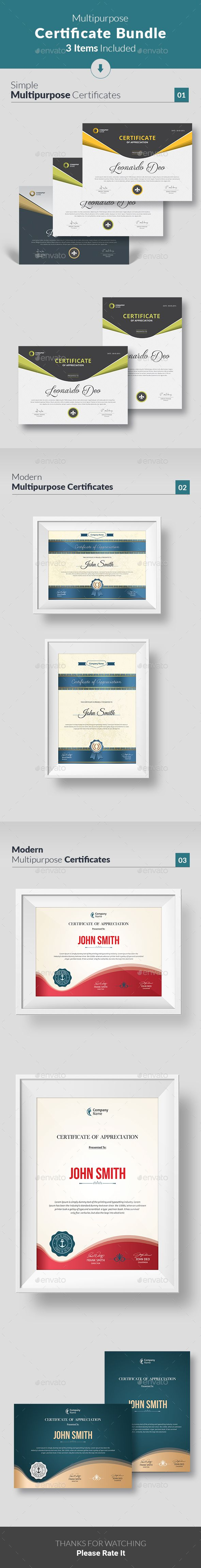 Simple Certificate Template PSD Versions Available Download https://graphicriver.net/item/simple-certificate/19241296?ref=themedevisers