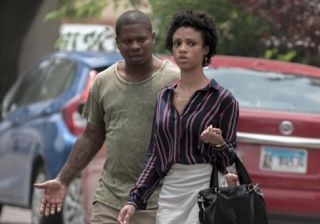 """Tiffany Boone - Jerrika Little The Chi Cast  Tiffany Boone plays Jerrika Little on the Showtime series The Chi. Jerrika is Brandon's (Jason Mitchell) girlfriend and she tries to keep him out of trouble so they can open a restaurant together. In episode 3 of season 1 """"Ghosts"""" we see Brandon get beat up. His brother Coogie was murdered so Brandon tries to buy a gun from someone off the street.  If Jason Mitchell looks familiar it's because he played Eazy-E on Straight Outta Compton. Mitchell…"""