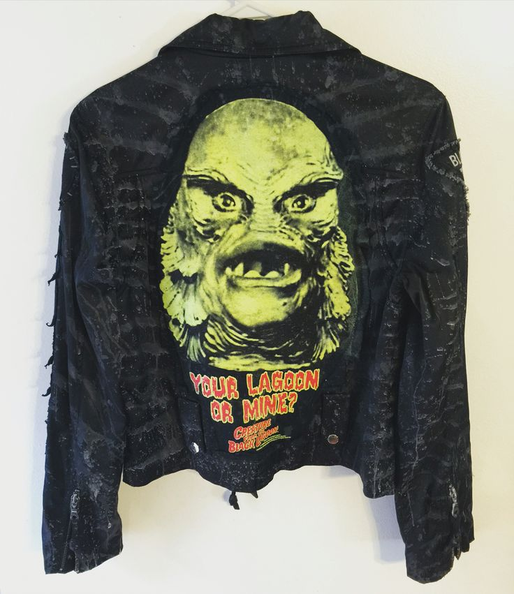 Creature From The Black Lagoon jacket from Chad Cherry ...