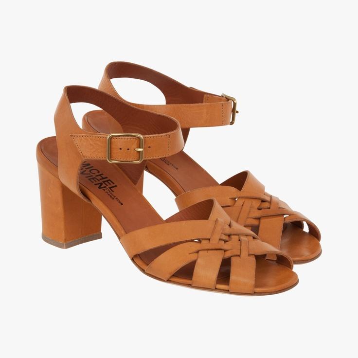 Sandales à lanières boucle dorée - Sandales - Chaussures - Accessoires - Accueil
