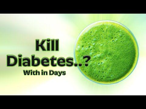 1 Recipe That Kills Diabetes || No Drugs || No Pills || No Insulin Injections - YouTube