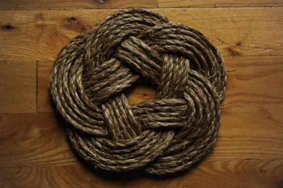 Nautical rope hot pad the shop pinterest more for Rope designs and more