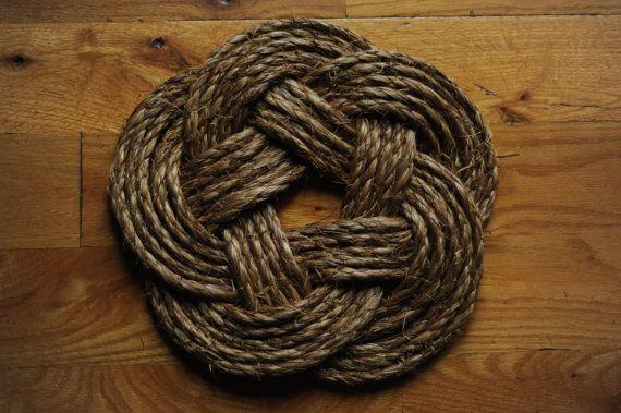 Nautical Rope Hot Pad