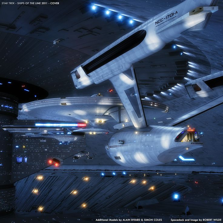 Art: Spacedock......beautiful shot!