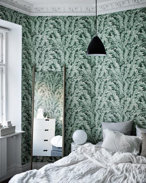 Apartment Wallpaper: 18 Best Bold Accent Wall Images On Pinterest