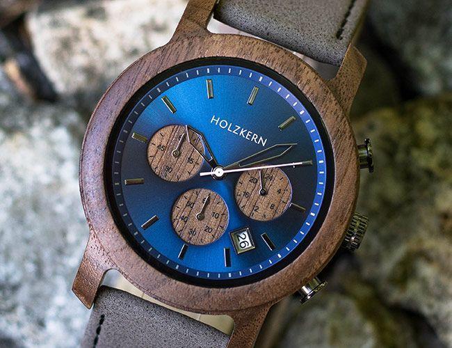 Uhren Aus Holz Und Stein