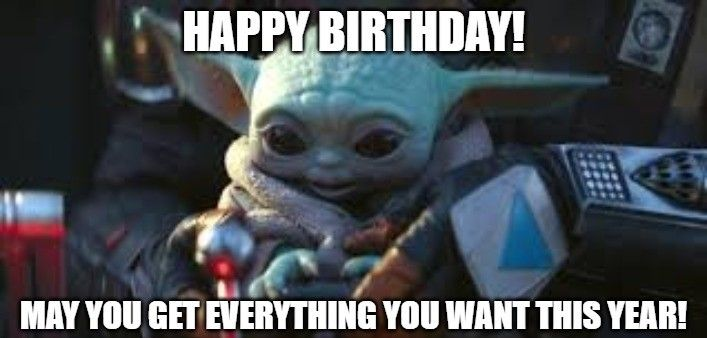 The Newest And Best Happy Birthday Memes 50 Best Happy Birthday Meme Yoda Happy Birthday Happy Birthday Fun