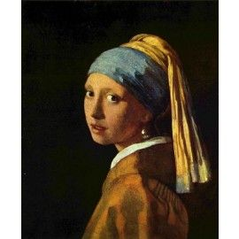 Jan Vermeer - Das Mädchen mit dem Perlenohrring