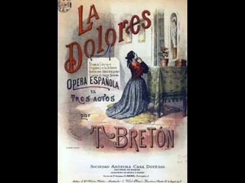 ▶ La Dolores (Teatro Calderon de Madrid) - YouTube