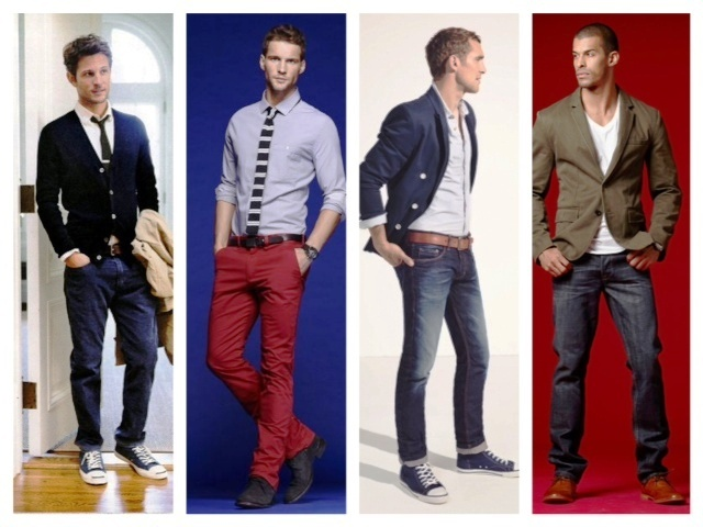 If you are one of those lucky guys and your office is casual take a look at these Casual Office Styles! #casual #office #men