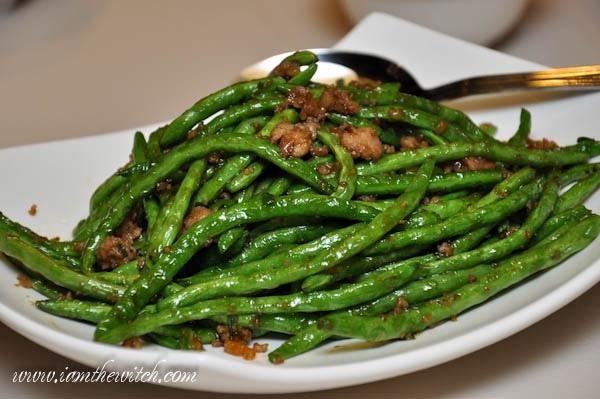 Din Tai Fung green beans