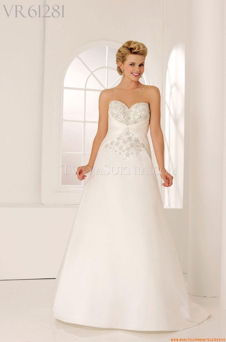 75 best moderne Hochzeitskleid images on Pinterest | Wedding frocks ...