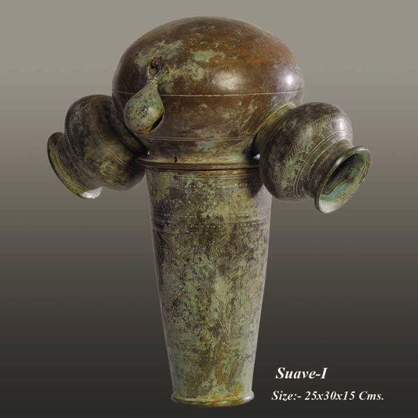Neeraj Gupta metal Sculpture artists created by : Neeraj Gupta  size : 25x30x15, price on demand