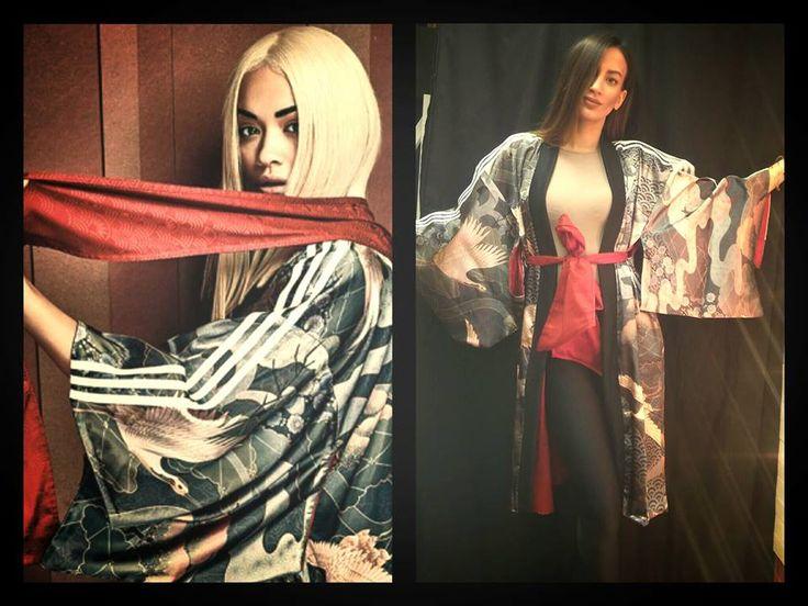 > ADIDAS X RITA ORA < Η Βρετανίδα τραγουδίστρια δεν παύει να μας εκπλήσσει με τις συνεργασίες της με την Adidas.  Την σεζόν που διανύουμε η Rita Ora είναι επηρεασμένη από την Ιαπωνική κουλτούρα και μας παρουσιάζει μια σειρά που θα μας αφήσει άφωνους , κιμονό , ζακέτες και γενικά στιλιστικά κομμάτια με ύφος Ιαπωνίας.... > Shoponline / www.wearhouse.gr > Callus / +302651023925 > Visitus / Xarilaou Trikoupi 6 / Ioannina