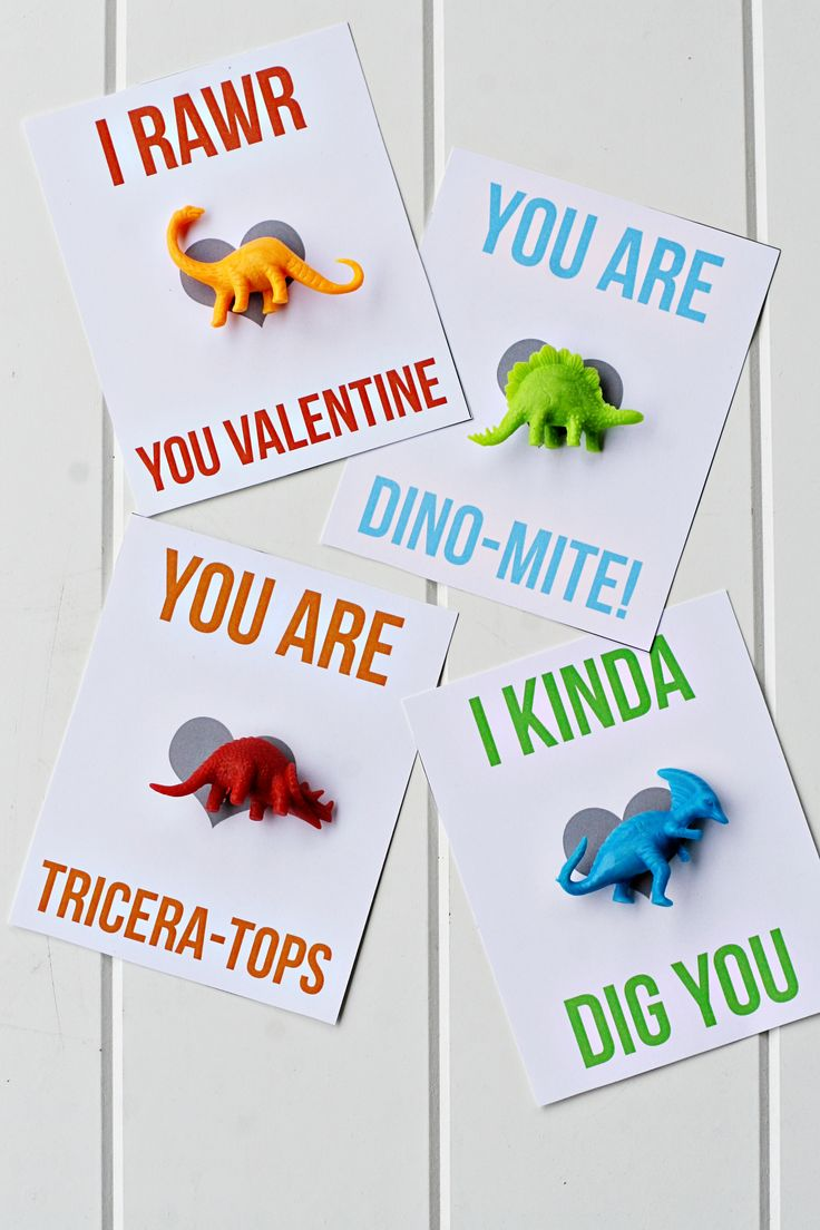 These are great!! Dinosaur Printable Valentines   MyPrintly