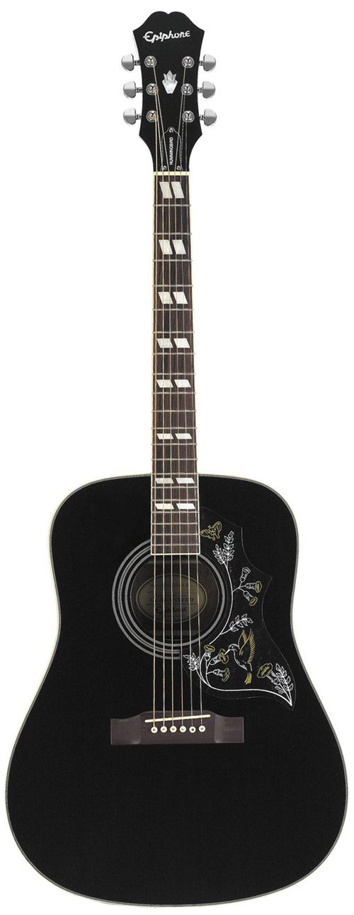Get yourself the Epiphone Hummingbird Pro Ebony from the UK's Largest Guitar Store. Buy today and get this Epiphone with Free Delivery.