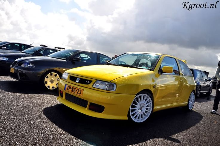 Seat Ibiza 6k with rally kit
