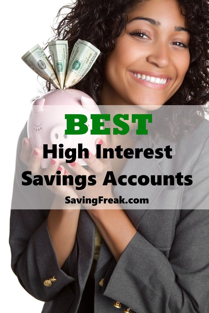 best online high interest savings accounts