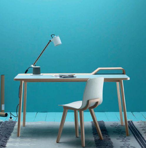 Contemporary desk / in wood BELHARRA by Jean Louis Iratzoki TREKU