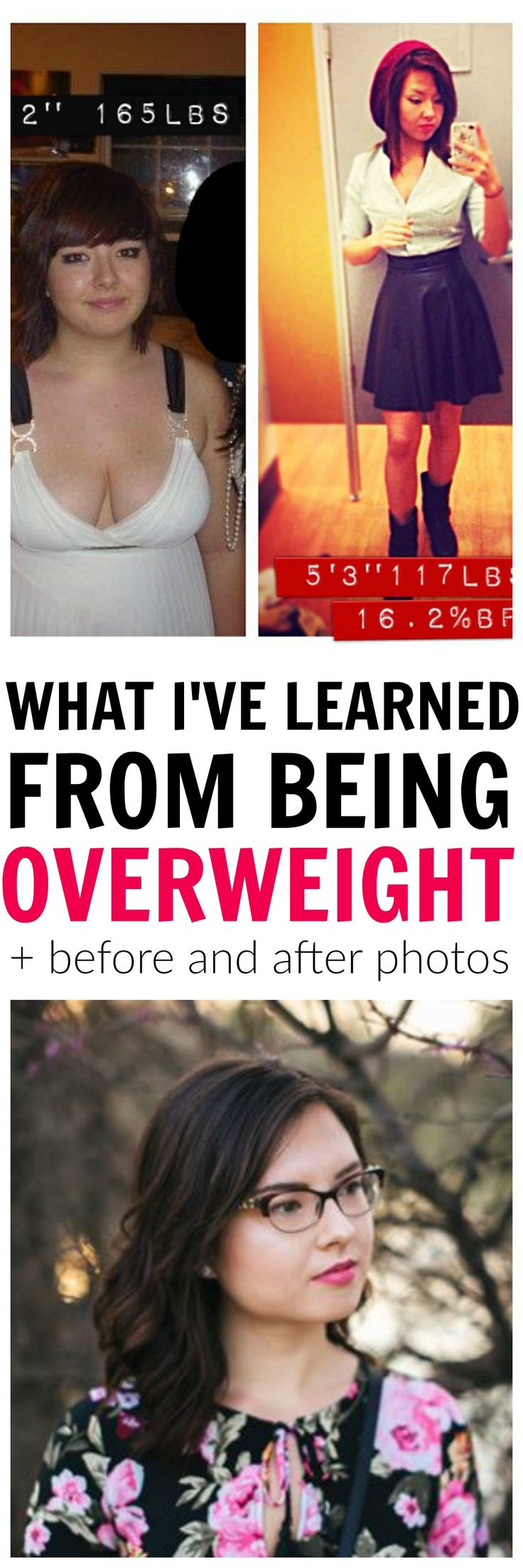 Find out what I've learned from being a 170 pound girl to 115 pounds. Find out the key to losing weight and how it's not just about healthy eating and exercising.
