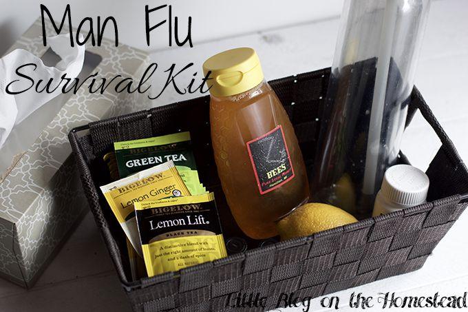Man Flu Survival Kit - http://www.littleblogonthehomestead.com/man-flu-survival-kit/ @bigelowtea #meandmytea #ad #collectivebias
