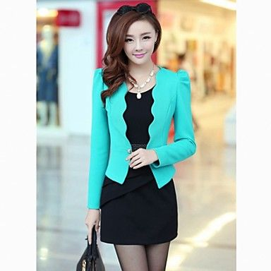 Women's+Slim+Fit+Bodycon+Vest+Dress+Suit+(Dress++Outerwear)+-+USD+$+31.19