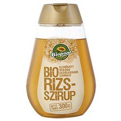 BIOPONT BIO RIZSSZIRUP 300 G - A természetben megtalálható édesítőszerek piaca az utóbbi években ugrásszerűen megnőtt. A fogyasztók is megérettek a váltásra, és már nyitottak a természetes megoldásokra. Újdonság a Bio Rizsszirup ellenőrzött ökológiai gazdaságból származó, sűrűn folyó, mézhez hasonlító állagú természetes édesítőszer.