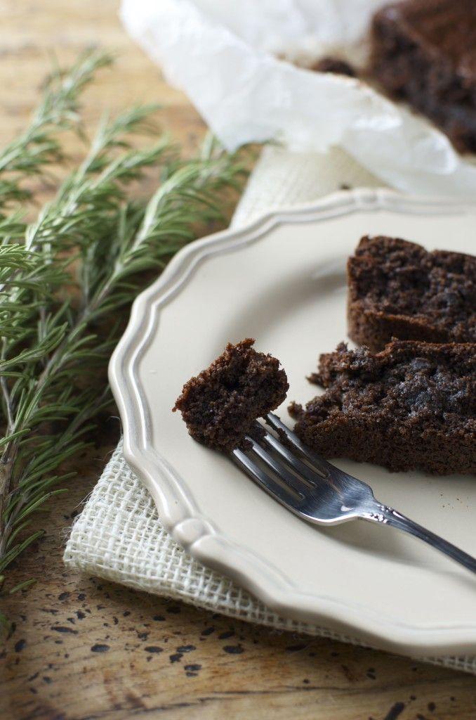 Torta al cacao senza glutine - glutenfree cocoa and almond flour cake
