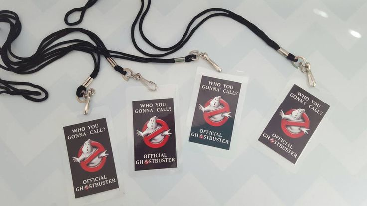 Set of 8-30 Ghostbuster Badges- Party Favors in Home & Garden, Greeting Cards & Party Supply, Party Supplies | eBay