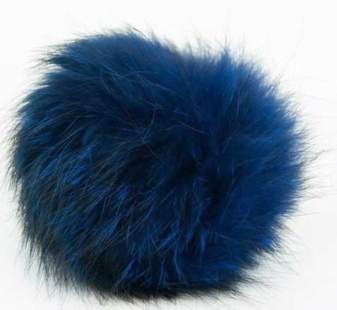 Vossenbont pompon van Lana Grossa | C.R. Couture