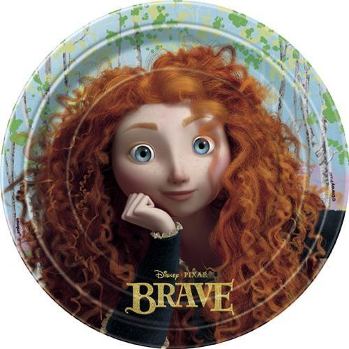 Disney Pixar Brave Dessert Plates [8 Per Pack] $4.99: Desserts Plates, Pixar Hit, Disney Pixar, Dessert Plates, Pixar Brave, Brave Desserts