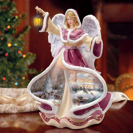 80 best Angel figurines images on Pinterest | Figurines, Thomas ...