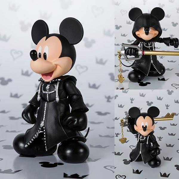 S.H.Figuarts King Mickey from Kingdom Hearts II [IN STOCK]  $85 AUD (FREE standard parcel post to anywhere in Australia)  #shfiguarts #mickey #disney #kingdomhearts #squareenix #bandai #figurecentral