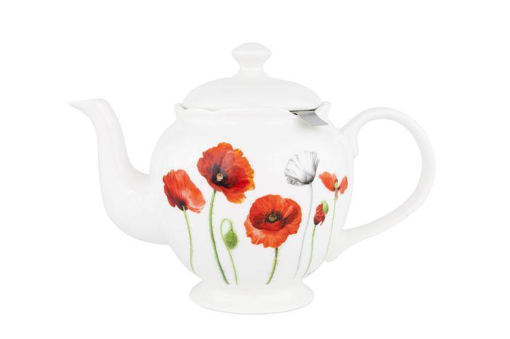 Ashdene Teapot Poppies Memorial Collection.