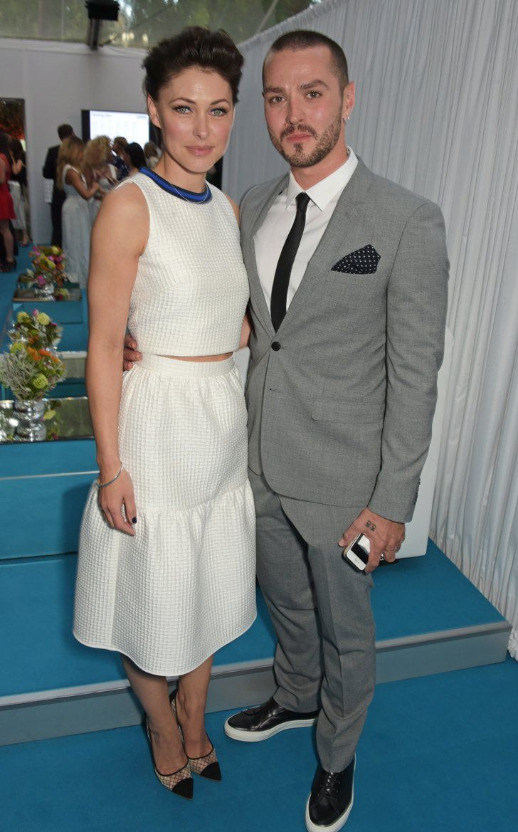 Pin for Later: See All the Stars on the Glamour Women of the Year Red Carpet! Matt and Emma Willis