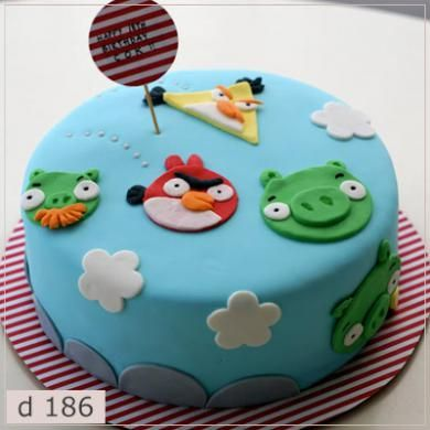 Детский торт на заказ d186