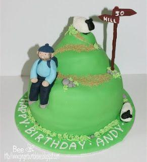 Hill Walker Cake Topper