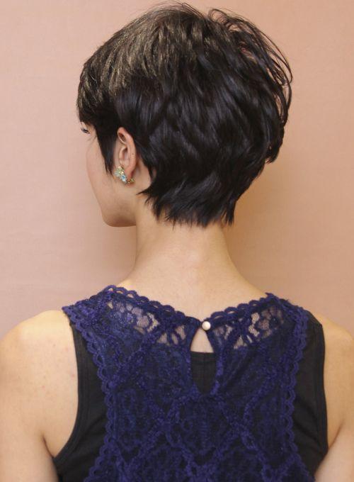 【ショートヘア】大人のエアリーモードショート/CIRCUS by BEAUTRIUMの髪型・ヘアスタイル・ヘアカタログ|2016冬春