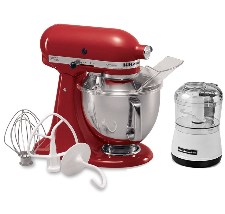 #ilovetoshop, Buy KitchenAid Artisan Stand Mixer with Bonus Mini Chopper & $50 Mail-In Rebate, KitchenAid and Mixers from The Shopping Channel, Canada's home shopping network - Online Shopping for Canadians
