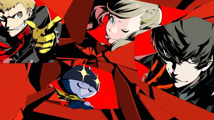 Persona 5. Can't wait for this game. Love the art style and music.