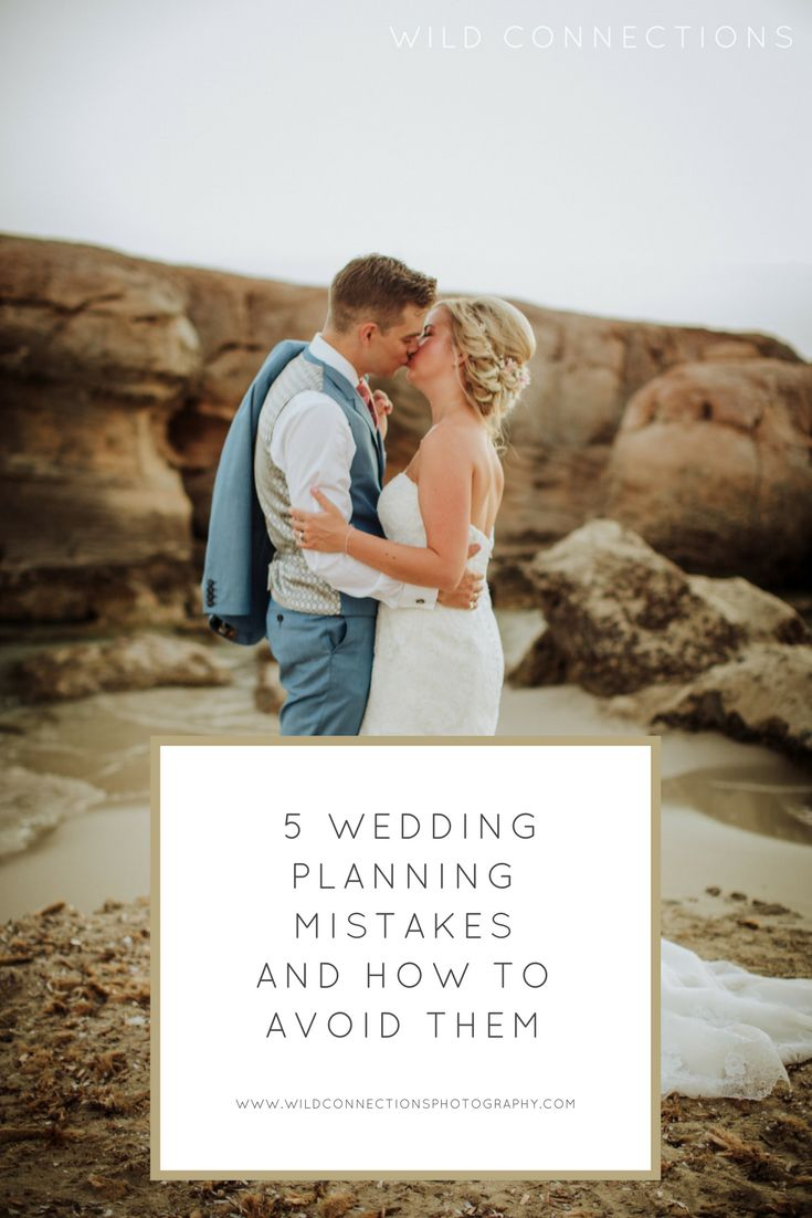 Common wedding planning mistakes and how to avoid making them too.