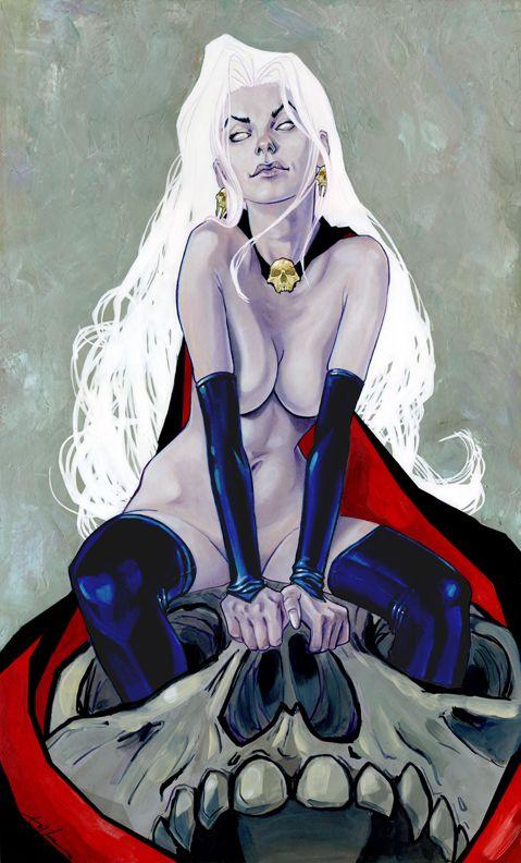 Lady Death by theirison.deviantart.com on @deviantART