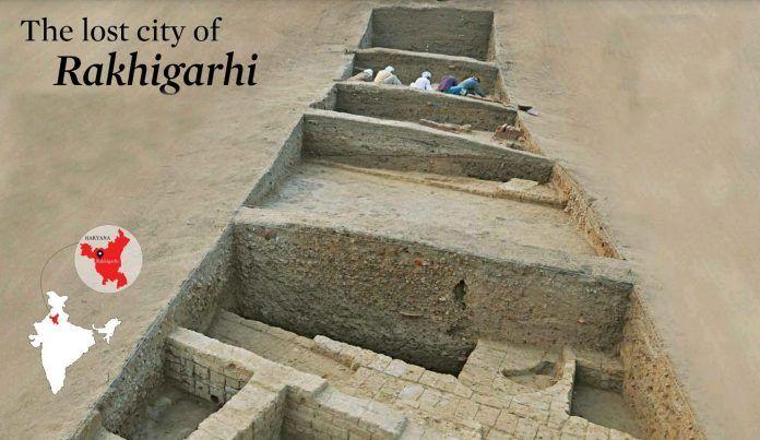 Древняя Индия - Ракхигархи