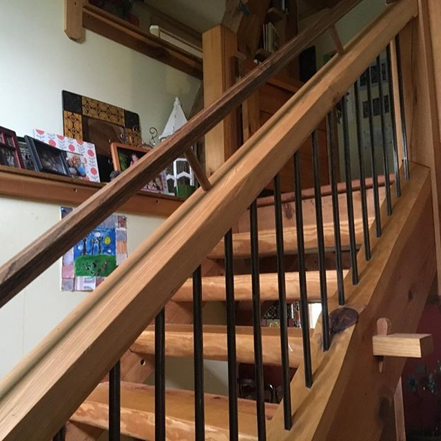 William S Woodworks Wood Stairs: 28 Best Timber Frame Tweets Images On Pinterest