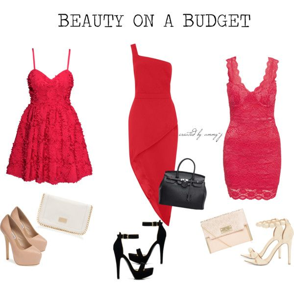 BEAUTY ON A BUGDET by ammy-j on Polyvore featuring H&M, Steve Madden, Forever New, kendalljenner and KylieJenner