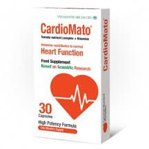 CardioMato 30 caps ~ https://www.vitahealthcare.com/index.php?id_product=205&controller=product ~ CardioMate lowers blood pressure ~ protects skin in summertime ~ protects cardiovascular system ~ reduces inflammation ~ Use from a few weeks to a few months (no more) ~ Boost to a good level then get from salad with tomatoes or pasta sauce with oil
