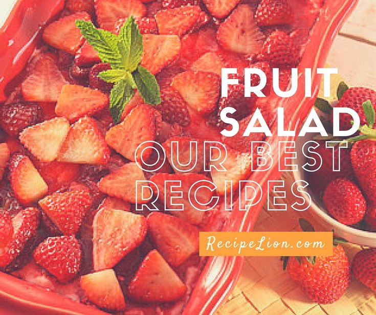 16 Easy Fruit Salad Recipes | These recipes for fruit salad are perfect for parties, picnics, potlucks, and more!