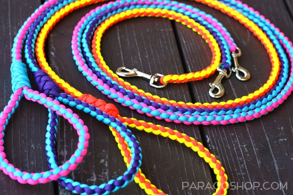 Paraco Round Dog Leashes — fully tested and great for dogs of any size. Each…